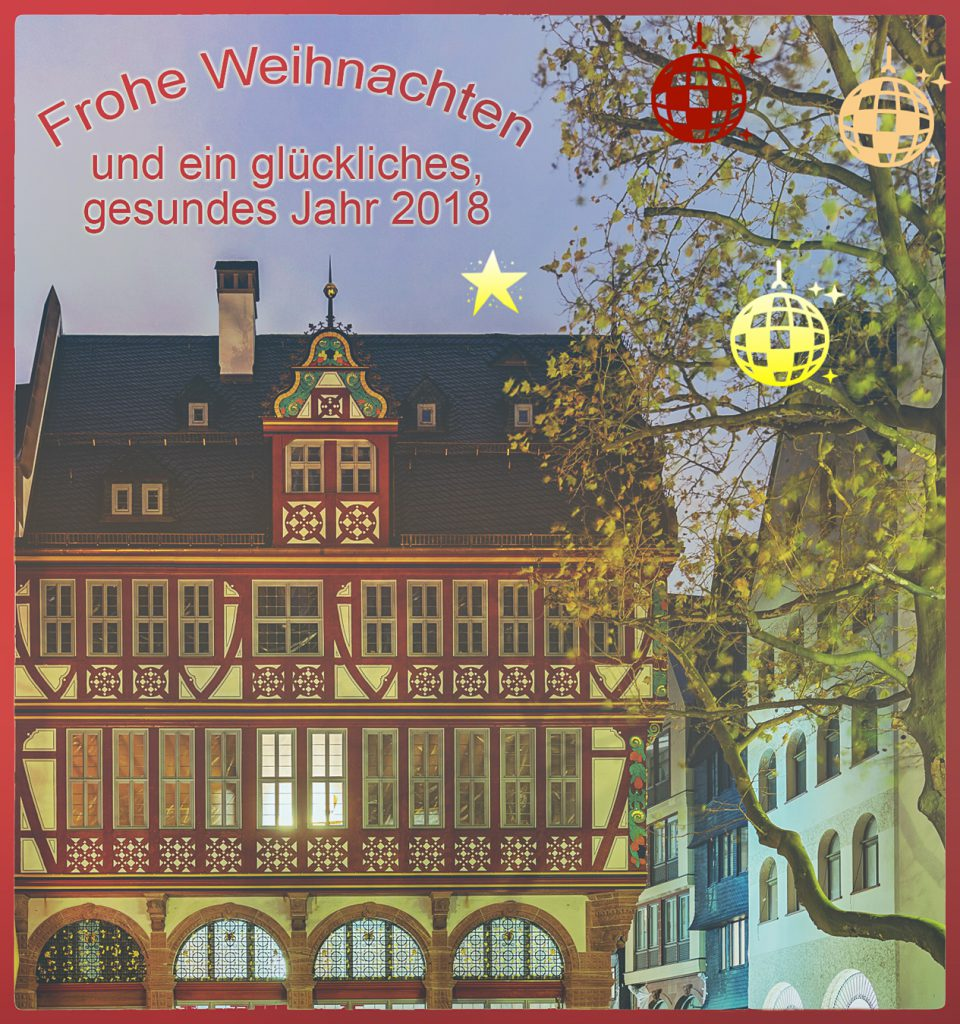 Weihnachtskarte 2017 - Praxis Dr. Christiane Stephan-Seffer